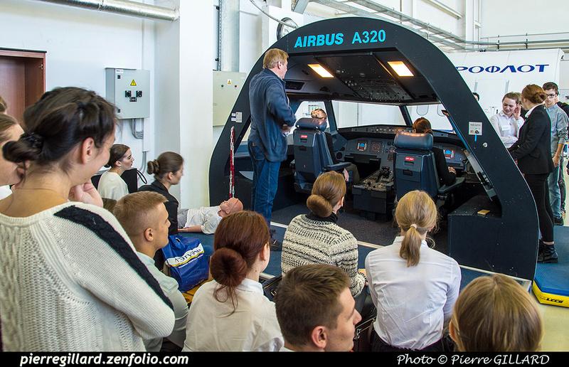 Pierre GILLARD: Russia - École des agents de bord de l'Aeroflot - Тренажерный комплекс Аэрофлота &emdash; 2018-525887