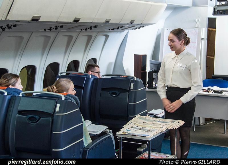 Pierre GILLARD: Russia - École des agents de bord de l'Aeroflot - Тренажерный комплекс Аэрофлота &emdash; 2018-525939