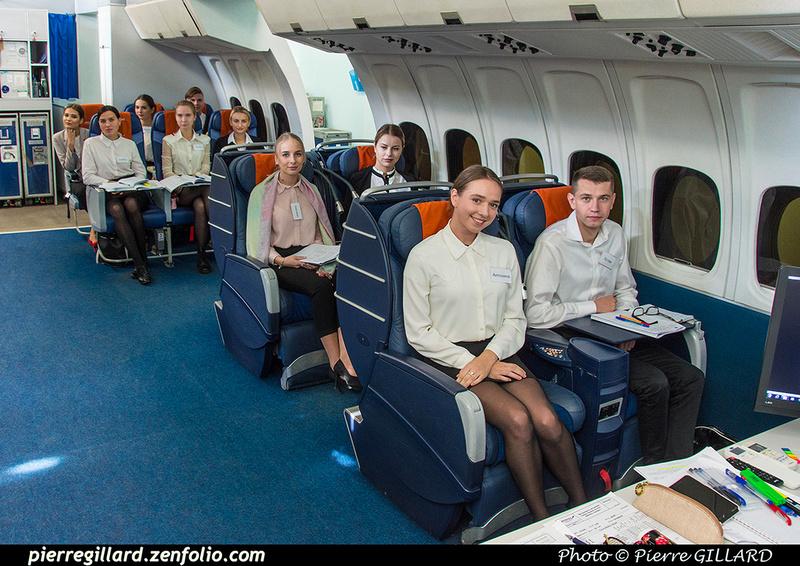 Pierre GILLARD: Russia - École des agents de bord de l'Aeroflot - Тренажерный комплекс Аэрофлота &emdash; 2018-525941