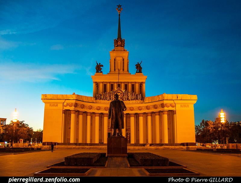 Pierre GILLARD: Moscou (Москва) : Centre panrusse des expositions (Всероссийский выставочный центр) &emdash; 2018-526134