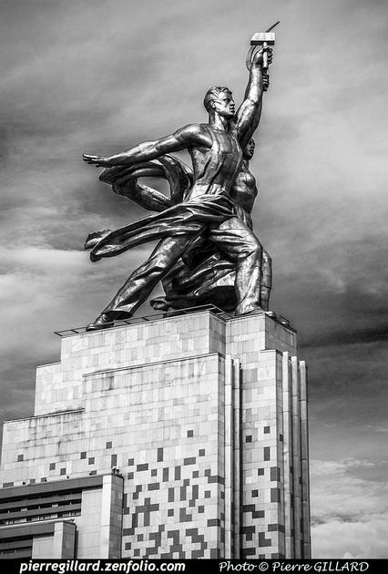 Pierre GILLARD: Moscou (Москва) : Centre panrusse des expositions (Всероссийский выставочный центр) &emdash; 2018-527236