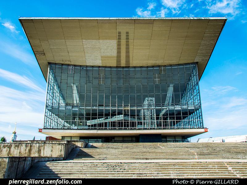 Pierre GILLARD: Moscou (Москва) : Centre panrusse des expositions (Всероссийский выставочный центр) &emdash; 2018-527263