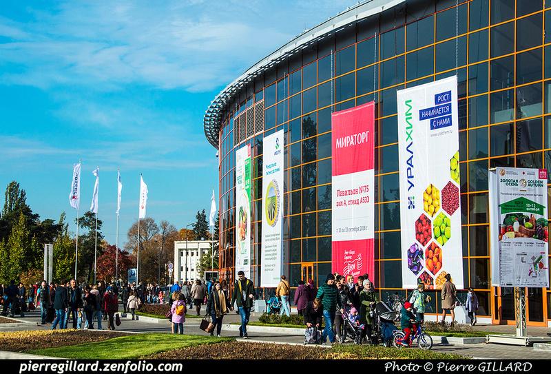 Pierre GILLARD: Moscou (Москва) : Centre panrusse des expositions (Всероссийский выставочный центр) &emdash; 2018-527266
