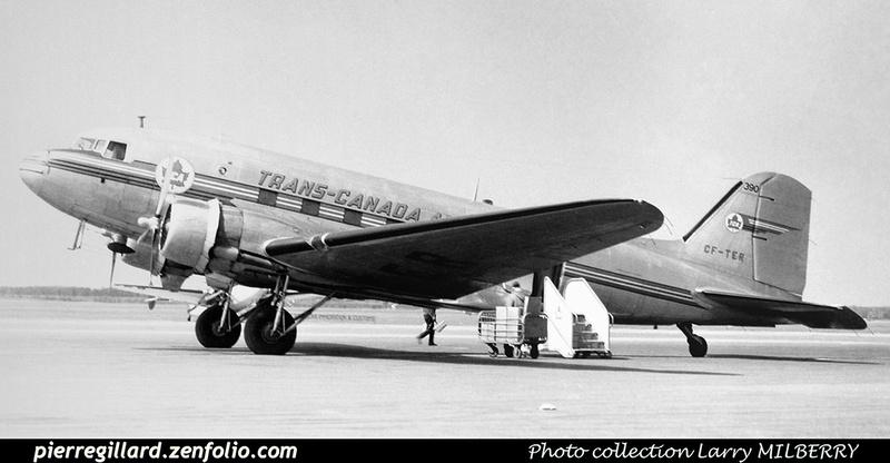 Pierre GILLARD: Trans-Canada Air Lines &emdash; 010421
