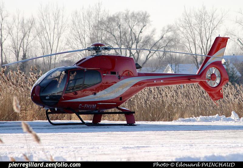 Pierre GILLARD: Canada - Hélicoptères privés - Private Helicopters &emdash; 030422
