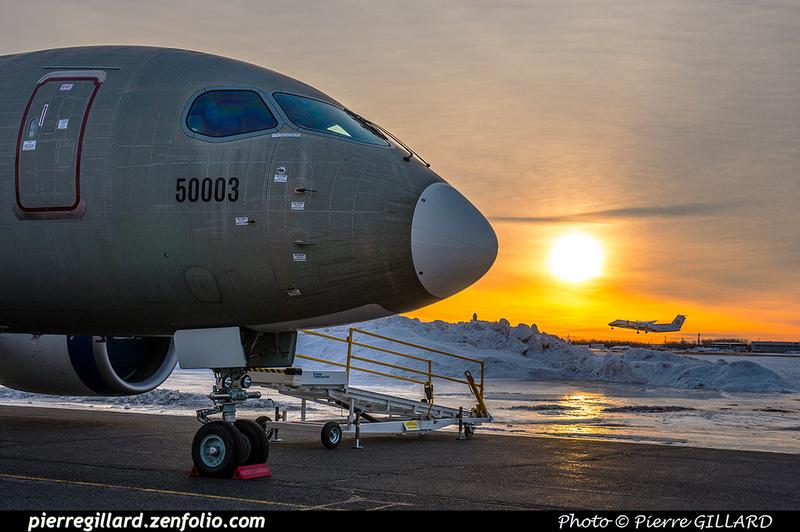 Pierre GILLARD: Bombardier CSeries CS100 C-GWXJ &emdash; 2019-620736