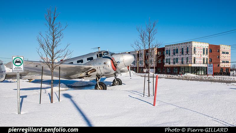Pierre GILLARD: Beechcraft 18 CF-ZWY-X &emdash; 2019-620742