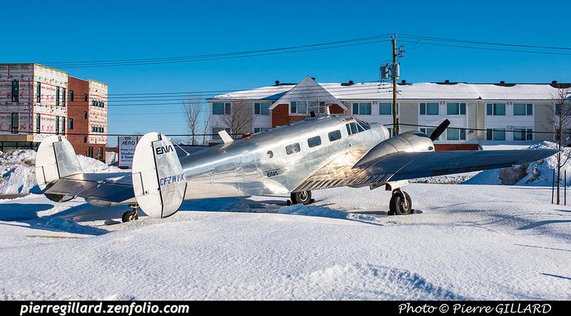 Pierre GILLARD: Beechcraft 18 CF-ZWY-X &emdash; 2019-620751