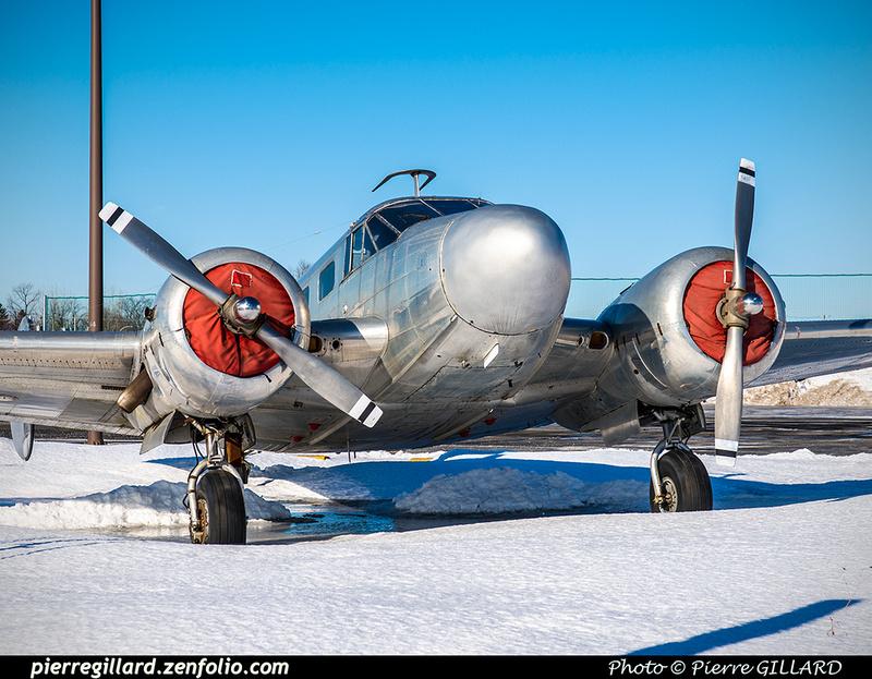 Pierre GILLARD: Beechcraft 18 CF-ZWY-X &emdash; 2019-620745
