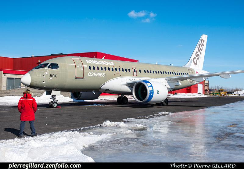 Pierre GILLARD: Bombardier CSeries CS100 C-GWXJ &emdash; 2019-620815