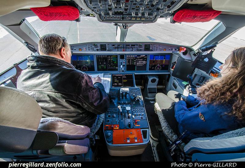 Pierre GILLARD: Bombardier CSeries CS100 C-GWXJ &emdash; 2019-711612
