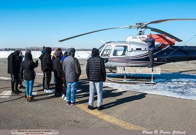 Pierre GILLARD: 2019-03-01 - Matinée d'initiation à l'hélicoptère au profit de jeunes de la Maison de Jonathan &emdash; 2019-620859