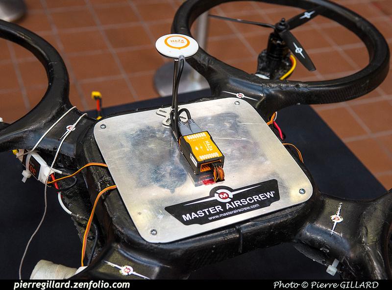 Pierre GILLARD: 2019-03-06 - Premier d'un drone développé par des étudiants de l'ÉNA &emdash; 2019-620881