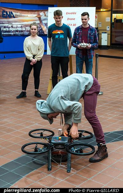 Pierre GILLARD: 2019-03-06 - Premier d'un drone développé par des étudiants de l'ÉNA &emdash; 2019-620900