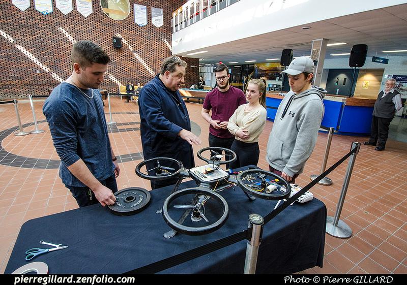 Pierre GILLARD: 2019-03-06 - Premier d'un drone développé par des étudiants de l'ÉNA &emdash; 2019-711638