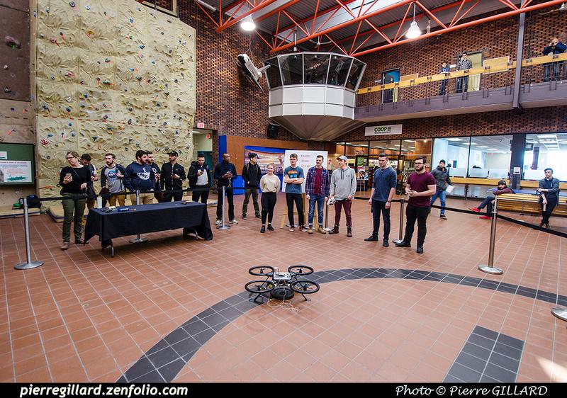 Pierre GILLARD: 2019-03-06 - Premier d'un drone développé par des étudiants de l'ÉNA &emdash; 2019-711640