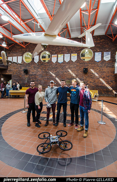Pierre GILLARD: 2019-03-06 - Premier d'un drone développé par des étudiants de l'ÉNA &emdash; 2019-711651