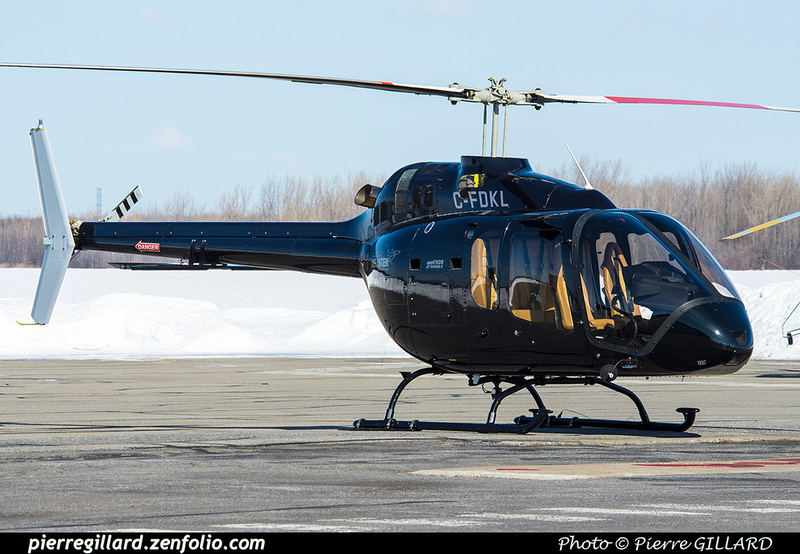 Pierre GILLARD: Canada - Hélicoptères privés - Private Helicopters &emdash; 2019-424078