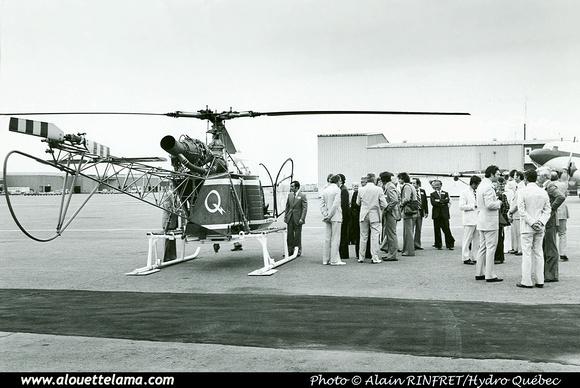 Pierre GILLARD: Canada - Les Hélicoptères La Vérendrye &emdash; 002930