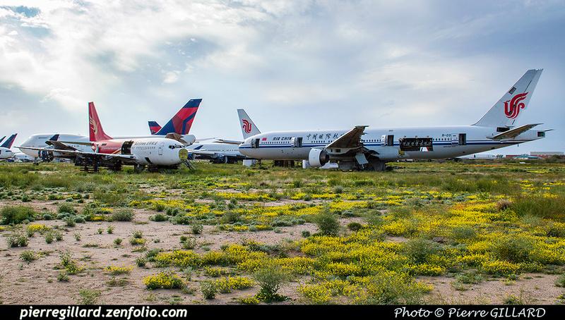 Pierre GILLARD: U.S.A. : Pinal Air Park, AZ &emdash; 2019-527797