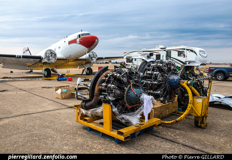 Pierre GILLARD: 2019-04-06 au 2019-06-06 (?) - Plane Savers - Restauration du DC-3 C-FDTD &emdash; 2019-620994