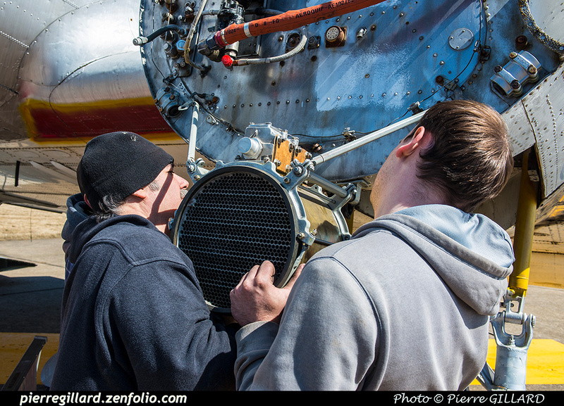 Pierre GILLARD: 2019-04-06 au 2019-06-06 (?) - Plane Savers - Restauration du DC-3 C-FDTD &emdash; 2019-621089