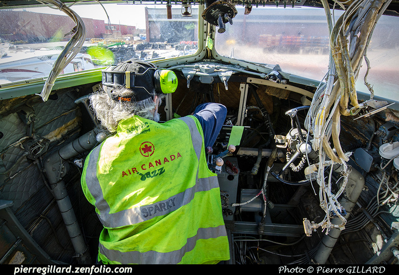 Pierre GILLARD: 2019-04-06 au 2019-06-06 (?) - Plane Savers - Restauration du DC-3 C-FDTD &emdash; 2019-711760