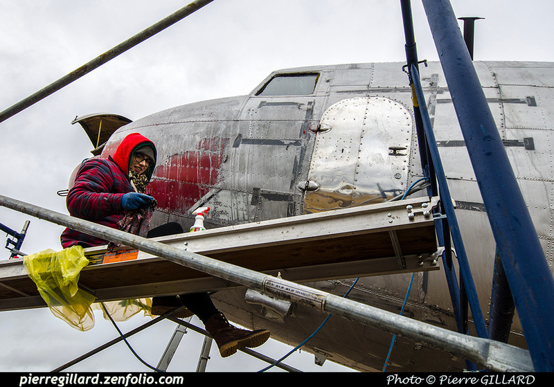 Pierre GILLARD: 2019-04-06 au 2019-06-06 (?) - Plane Savers - Restauration du DC-3 C-FDTD &emdash; 2019-711775