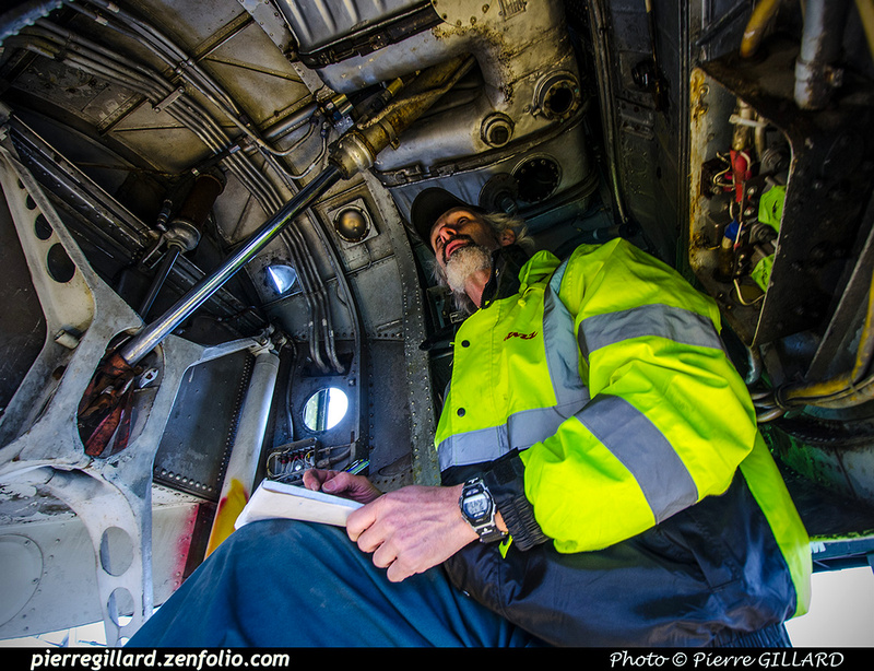 Pierre GILLARD: 2019-04-06 au 2019-06-06 (?) - Plane Savers - Restauration du DC-3 C-FDTD &emdash; 2019-711776