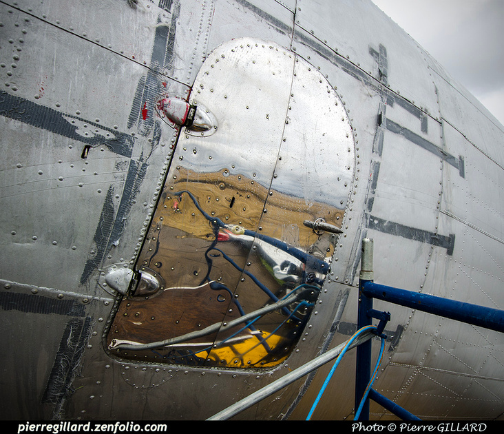 Pierre GILLARD: 2019-04-06 au 2019-06-06 (?) - Plane Savers - Restauration du DC-3 C-FDTD &emdash; 2019-711785