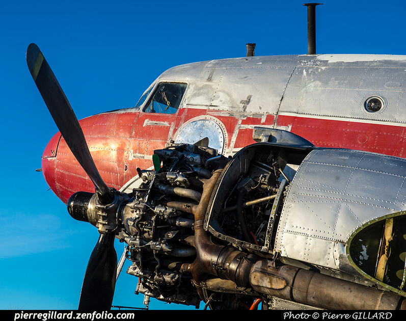 Pierre GILLARD: 2019-04-06 au 2019-06-06 (?) - Plane Savers - Restauration du DC-3 C-FDTD &emdash; 2019-621168