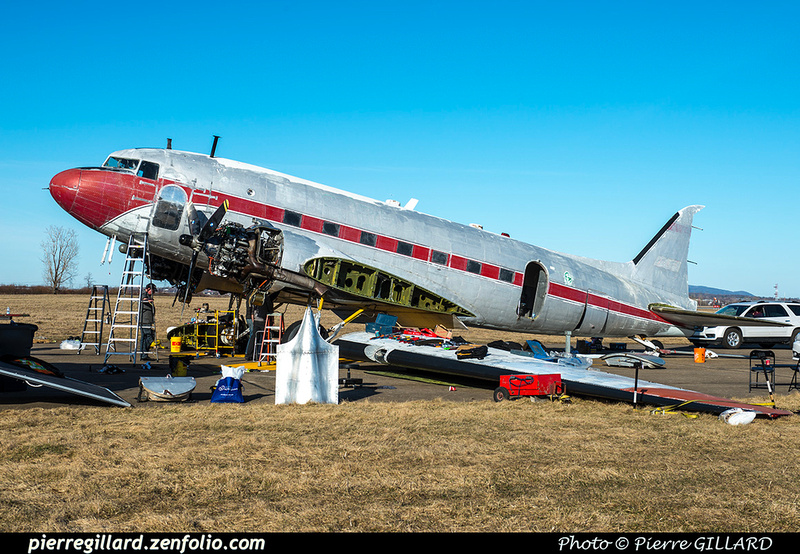 Pierre GILLARD: 2019-04-06 au 2019-06-06 (?) - Plane Savers - Restauration du DC-3 C-FDTD &emdash; 2019-621144