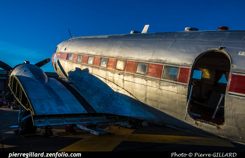 Pierre GILLARD: 2019-04-06 au 2019-06-06 (?) - Plane Savers - Restauration du DC-3 C-FDTD &emdash; 2019-621175