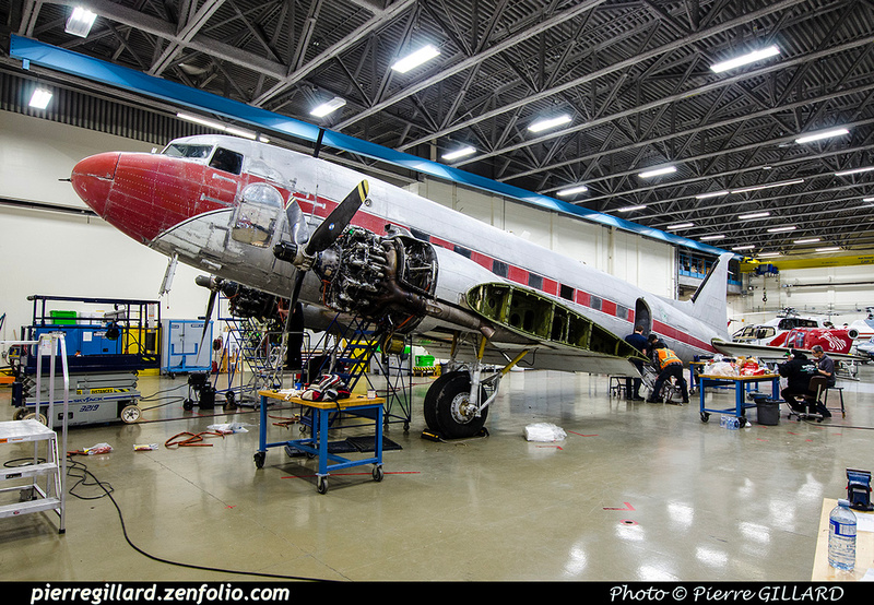 Pierre GILLARD: 2019-04-06 au 2019-06-06 (?) - Plane Savers - Restauration du DC-3 C-FDTD &emdash; 2019-711799