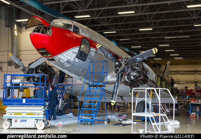 Pierre GILLARD: 2019-04-06 au 2019-06-06 (?) - Plane Savers - Restauration du DC-3 C-FDTD &emdash; 2019-621232