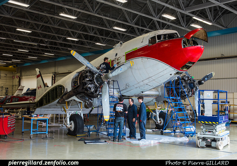 Pierre GILLARD: 2019-04-06 au 2019-06-06 (?) - Plane Savers - Restauration du DC-3 C-FDTD &emdash; 2019-621235