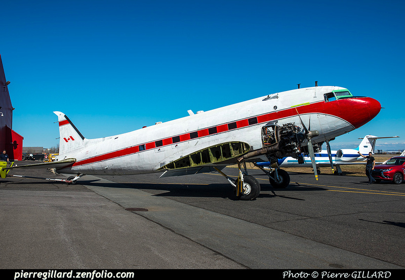 Pierre GILLARD: 2019-04-06 au 2019-06-06 (?) - Plane Savers - Restauration du DC-3 C-FDTD &emdash; 2019-621265