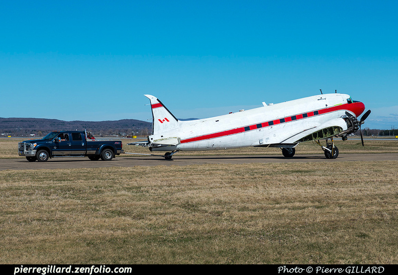 Pierre GILLARD: 2019-04-06 au 2019-06-06 (?) - Plane Savers - Restauration du DC-3 C-FDTD &emdash; 2019-621301