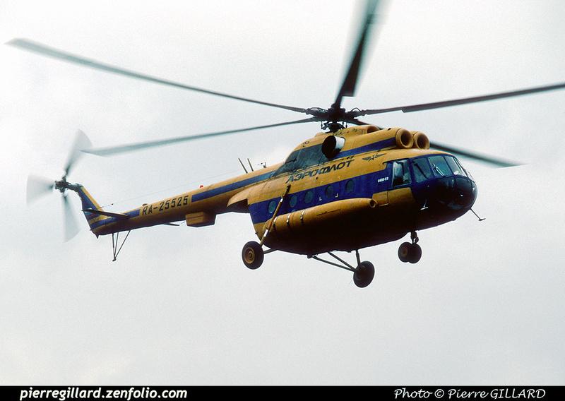 Pierre GILLARD: 1996-06-29 - Un Mi-8 à Saint-Ghislain &emdash; 1996-0417