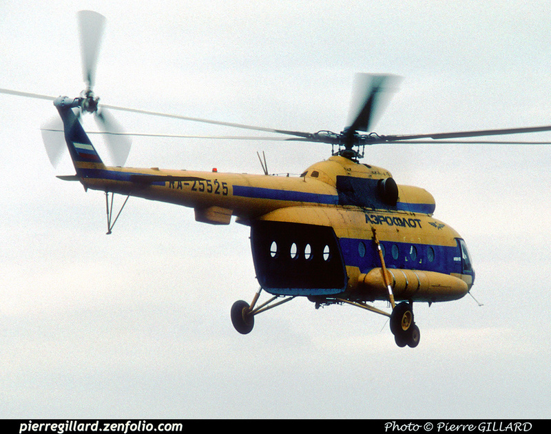 Pierre GILLARD: 1996-06-29 - Un Mi-8 à Saint-Ghislain &emdash; 1996-0420