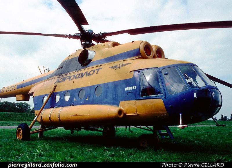 Pierre GILLARD: 1996-06-29 - Un Mi-8 à Saint-Ghislain &emdash; 1996-0422