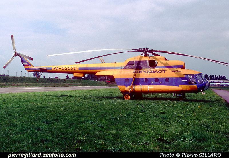 Pierre GILLARD: 1996-06-29 - Un Mi-8 à Saint-Ghislain &emdash; 1996-0423