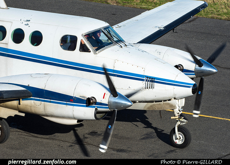 Pierre GILLARD: Beechcraft King Air 90 C-FUFW &emdash; 2019-800625