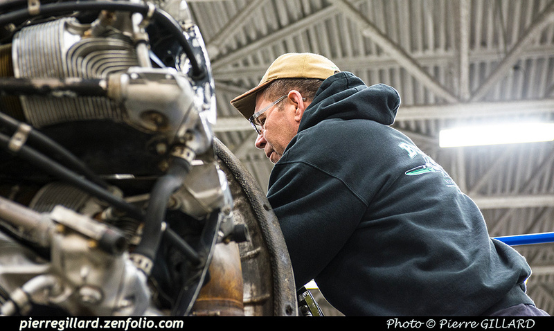 Pierre GILLARD: 2019-04-06 au 2019-06-06 (?) - Plane Savers - Restauration du DC-3 C-FDTD &emdash; 2019-621337