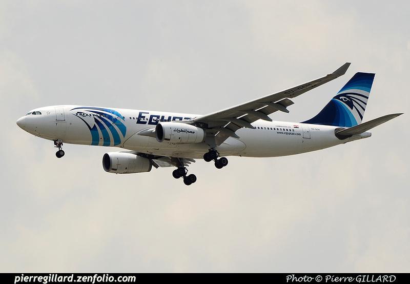 Pierre GILLARD: Egyptair &emdash; 2016-517561