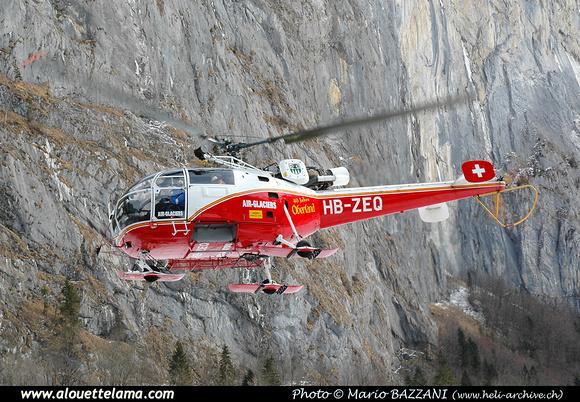 Pierre GILLARD: Air Glaciers - Alouettes & Lamas &emdash; ZEQ-005415