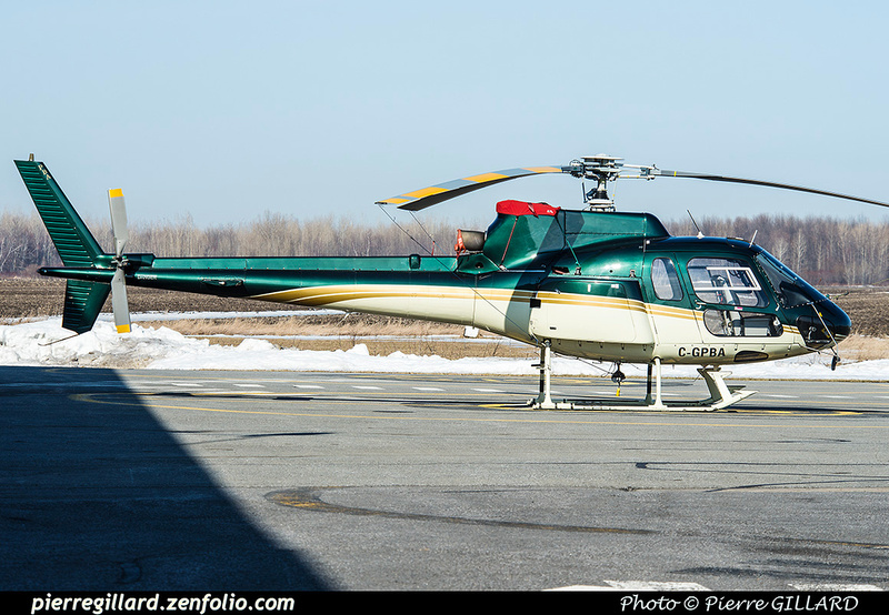 Pierre GILLARD: Canada - Hélicoptères privés - Private Helicopters &emdash; 2017-419758