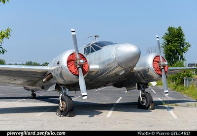 Pierre GILLARD: Beechcraft 18 CF-ZWY-X &emdash; 2015-604963