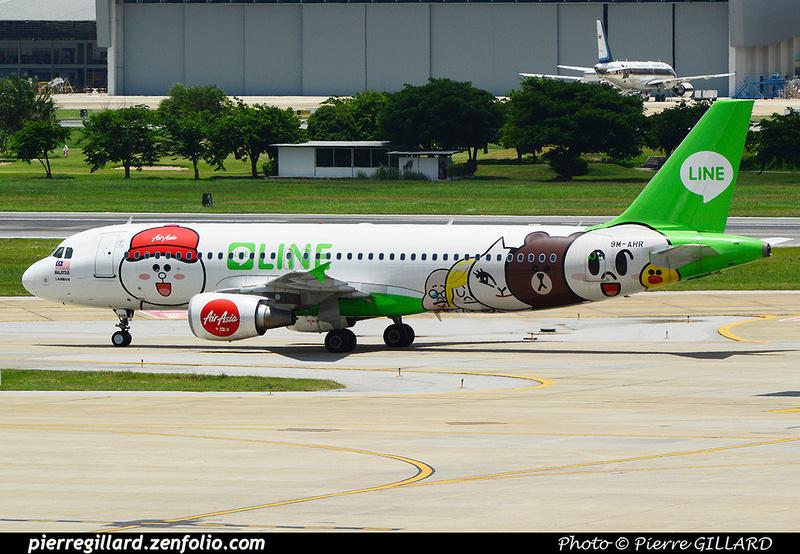 Pierre GILLARD: Air Asia &emdash; 2016-513573