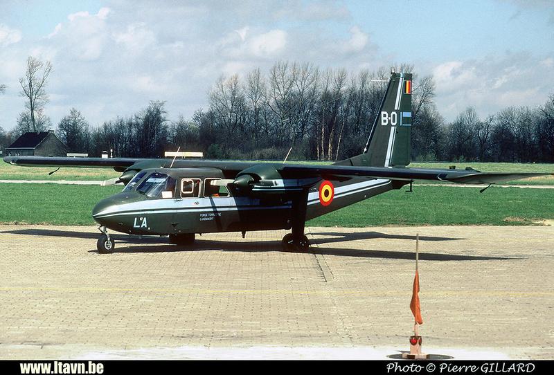 Pierre GILLARD: Aéronefs : Britten Norman BN-2A Islander &emdash; B01-020100